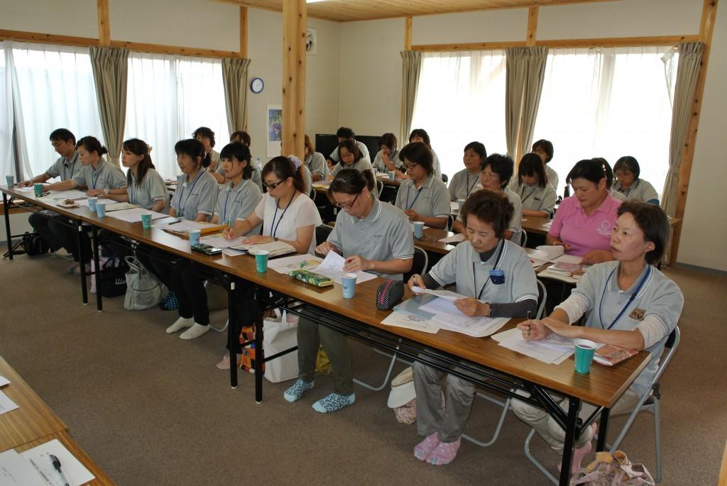 富岡町社協生活支援相談員の全体会議