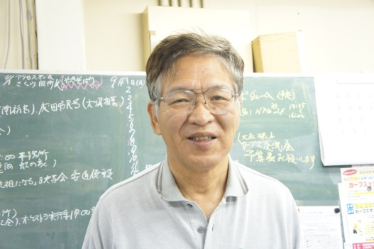 特定非営利法人まちづくりNPO新町なみえ 理事長 神長倉豊隆さん