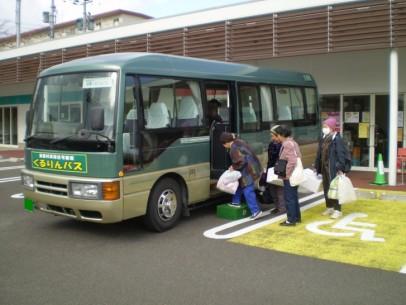 飯舘村仮設住宅循環「くるりんバス」