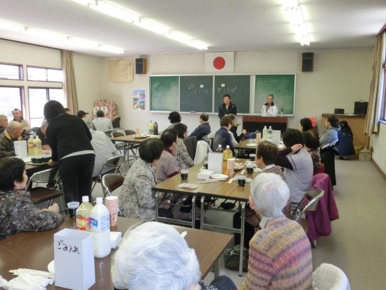 団地に入居する前の「顔合わせお茶会」 写真提供:みんぷく