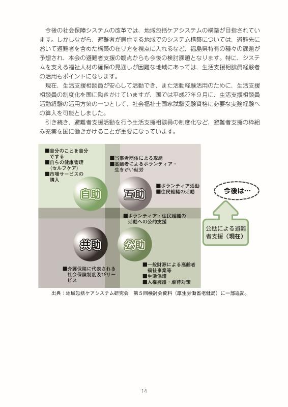 社会福祉法人福島県社会福祉協議会 避難者自立支援中期ビジョン_016