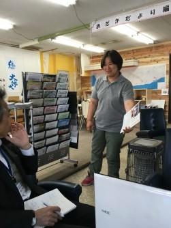 「小高を応援する会3B+1」代表の廣畑裕子さん