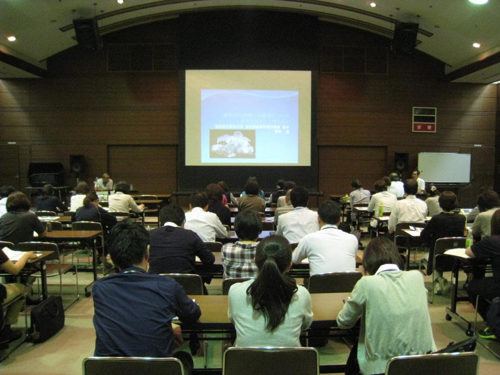 「放射線の健康への影響について」の研修に出席